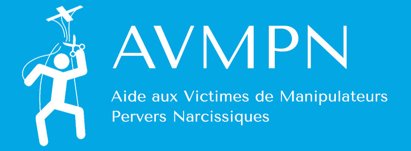 Aide aux victimes de manipulateurs pervers narcissiques - logo AVMPN